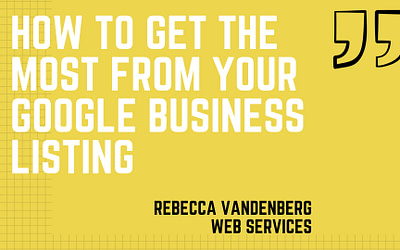 How to make the most of your free Google Business Listing