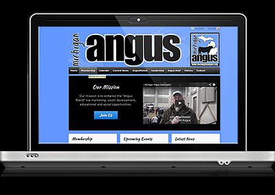 Michigan Angus Association Website
