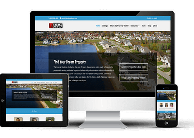 Miedema Realty Website Redesign