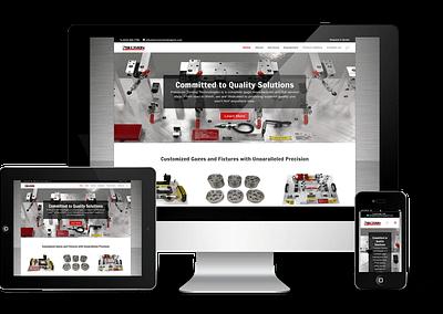 Precision Tooling Technologies Website Design