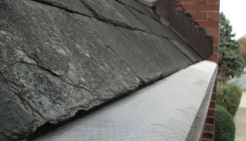 after roof washing