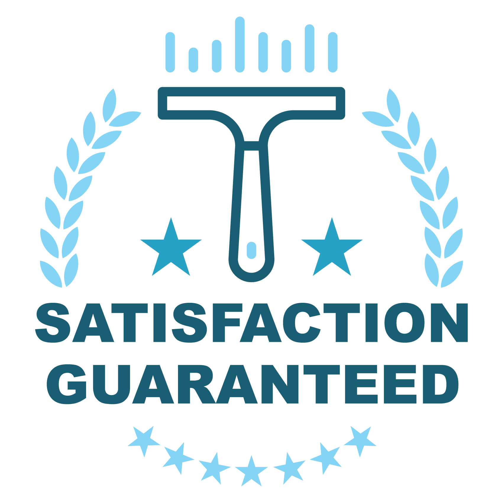 absolutely clean satisfaction guaranteed